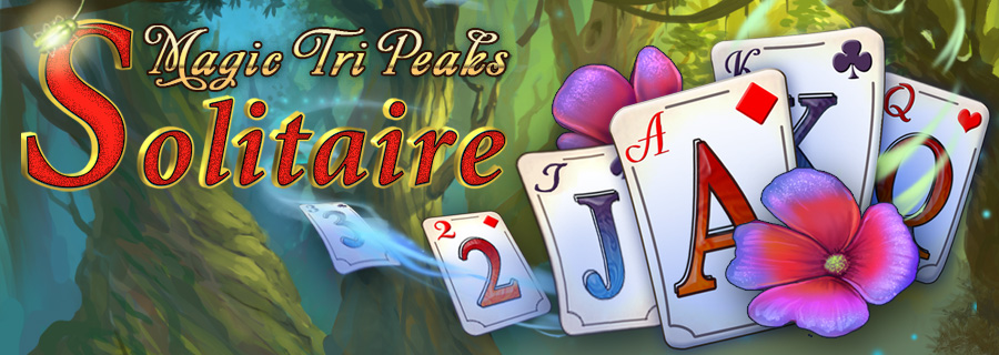 Magic Tri Peaks solitaire